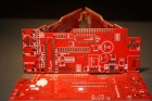 Great Product 2 Layers PCB FR-4 1.6MM Read Mask Immersion Gold