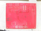 1 Layer PCB Board FR-4 1.6mm thickness Red Mask HASL lead free